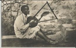 ERITREA -TIPI DELLA COLONIA - ABISSINO SUONATORE -FP - Erythrée