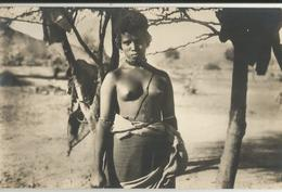 ERITREA -TIPI DELLA COLONIA - RAGAZZA BILENA -FP - Erythrée
