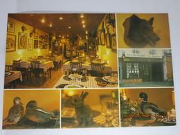 CP 45 COURTENAY  - Restaurant Spécialités Corses , Gibier En Saison , Place Du Marché LE RABOLIOT, Multivue - Courtenay
