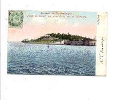 GB LEVANT CARTE DE CONSTANTINOPLE POUR LA FRANCE 1905 - Levante Británica