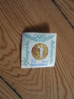 Timbre Melbourne 1956 35 Bani Posta Romana. 1964. Roumanie - Rumania