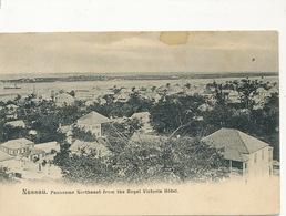 Nassau Bahamas   Panorama Northeast From The Royal Victoria Hotel Undivided Back - Bahamas