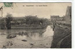 1 Cpa Trappes - La Mare Savin - Trappes