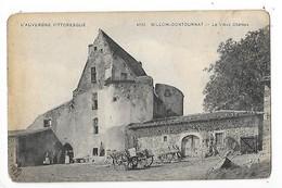 BILLOM - CONTOURNAT  (cpa 63)  Le Vieux Château    -  L 1 - France