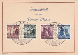 Böhmen Und Mähren Sammlerkarte Aus Prag 1941 - Briefe U. Dokumente
