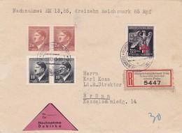 Böhmen Und Mähren Sammlerbrief Aus Prag 1943 - Bohême & Moravie