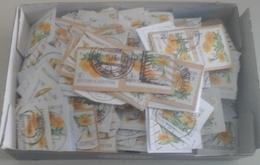 Belgique - Fleurs - Petit Lot De 500° - 2008 - Valeur 1 - Sur Fragments - Vrac (max 999 Timbres)