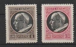 MiNr. 106, 107 Vatikanstadt 1945, 2. März. Freimarken: Papst Pius XII. - Ungebraucht