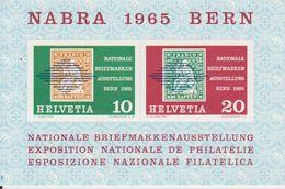 Switzerland 1965 Nabra Bern M/s ** Mnh (42047) - Blokken
