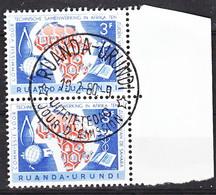 Ruanda Urundi Nr 217- 218  FDC     Obliteré - Gestempled - Used   (O) - Ruanda-Urundi