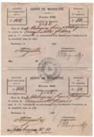 Depot De Mendicité  1846  BORDEAUX Holagray - Documents Historiques