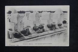 MAROC - Carte Postale - Oudjda - Les Remparts Après Un Combat - L 24150 - Morocco