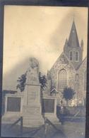 WEST - NIEUWKERKE (Fotokaart) Oorlogs Monument En Kerk - Heuvelland