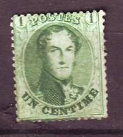 BELGIQUE N° 13A Oblitéré  Cote 85  Euros - 1863-1864 Medaillen (13/16)
