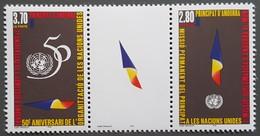 Andorre - YT N°465A - Organisation Des Nations Unies / Admission D'Andorre - 1995 - Neuf - Andorra Francesa