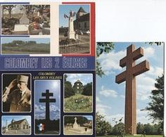 CPM - GENERAL De GAULLE - COLOMBEY LES 2 EGLISES.... Lot De 3 Cartes - People