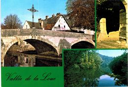 Vallée De La Loue - Vuilllafans Et Son Vieux Pont A Montgesoie, Entrée D'une Cave Vigneronne - Miroir De Scey - Francia