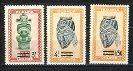 Ruanda Urundi Nr 173-175      Neufs Avec Charnière - Postfris Met Plakker - MH  (x) - Ruanda-Urundi
