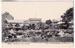 CP1024 Belgian Congo Boma Caserne De La Force Publique Barracks Of The Public Force - Congo Belga - Otros