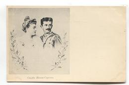 Duchess Jutta Of Mecklenburg-Strelitz & Crown Prince Danilo Of Montenegro - Early Postcard - Royal Families