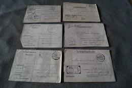 Superbe Lot De 6 Courriers Originaux Du Camp STALAG,prisonniers En Allemagne - 1939-45