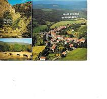 CARTE POSTALE 07 ST ETIENNE DE LUGDARES ET SES ENVIRONS  VOYAGEE - France