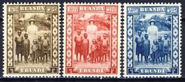 Ruanda Urundi Nr 108-110      Neufs Avec Charnière - Postfris Met Plakker - MH  (x) - Ruanda-Urundi