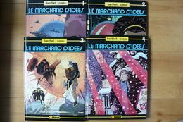 Le Marchand D'idées - Tomes 1 à 4 - Berthet & Cossu - Tous En édition Originale - EO - Berthet