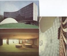 CPM - SIEGE Du PARTIE COMMUNISTE Français - Architecte Oscar Niemeyer - Lot De 3 Cartes - Partis Politiques & élections