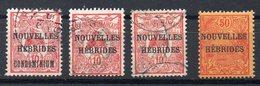 NOUVELLES HEBRIDES  Timbres De 1908  ( Ref 6177 ) Voir Descriptif - Oblitérés