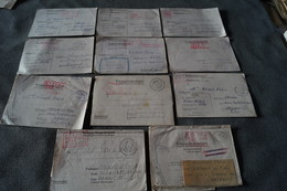 Superbe Lot De 11 Courriers Originaux Du Camp STALAG,Nicaise Maeck,prisonniers En Allemagne - 1939-45