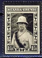 Ruanda Urundi Nr 107      Neufs Avec Charnière - Postfris Met Plakker - MH  (x) - Ruanda-Urundi