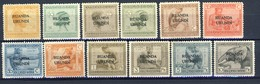 Ruanda Urundi Nr 50-61      Neufs Avec Charnière - Postfris Met Plakker - MH  (x) - Ruanda-Urundi