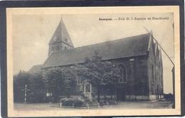 ANZEGEM. - Kerk St. J. Baptiste En Standbeeld - Anzegem