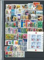 Switzerland , Bigger Party Of Used Stamps And Souvenir Sheets On Stock-pages  (as Per Scans) VFU - Switzerland