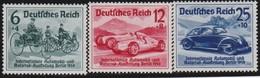 Deutsches Reich    .   Michel   .   686/688     .    *    .   Ungebraucht Mit Falz     .   /    .   Mint-hinged - Ungebraucht