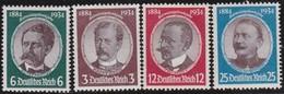 Deutsches Reich    .   Michel   .   540/543        .    *    .   Ungebraucht Mit Falz     .   /    .   Mint-hinged - Ungebraucht