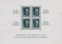 Deutsches Reich    .   Michel   .    Block   11      .    *    .   Ungebraucht Mit Falz     .   /    .   Mint-hinged - Deutschland