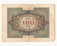 Allemagne Billet 100 Mark, 1920 , ( Pliures, Déchirures, Rousseurs Taches  ) - 1918-1933: Weimarer Republik