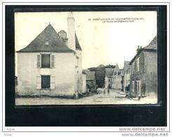 44 ST  JULIEN  D  VOUVANTES     La Route De Chateaubriant (petite Animation) 1930- - Saint Julien De Vouvantes