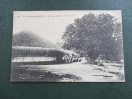 CPA Iles Sous Le Vent Jour De Fete A Bora Bora - French Polynesia