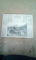 Calendrier Almanach Des Postes Et Télégraphes 1911 Simple  Cartonnage.au Pays Basque - Calendriers