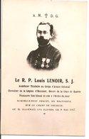 L200A571 - Portrait Du R.P Louis Lenoir - Aumonier Tué Sur Le Champ De Bataille En Macédoine Ou Il Secourait Les Blessés - Personnages
