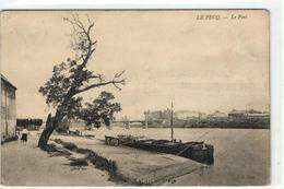 1 Cpa Le Pecq - Le Port - Le Pecq