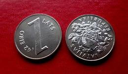 "1 Lats 2013 Latvia ""Parity Coins"" Last Lats Coin New Pre EURO, UNC From Rolls - Latvia"