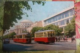 UKRAINE. VINNIZA / Vinnitsa. Lenin Street (w Tram) OLD PC 1960s Tramway - Tranvía