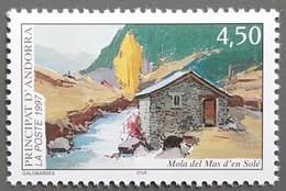 Andorre - YT N°490 - Moulin Du Mas D'en Solé - 1997 - Neuf - Andorra Francesa