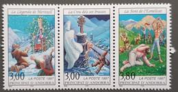 Andorre - YT N°493A - Légendes Andorranes - 1997 - Neuf - Andorra Francesa