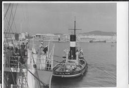BETTOLINA FRATELLI NERI - LIVORNO - FORMATO 14,50X10,50 - ORIGINALE D'EPOCA FINE ANNI '40 - Barche