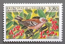 Andorre - YT N°501 - Nature / Faune / Oiseau - 1998 - Neuf - Andorra Francesa
